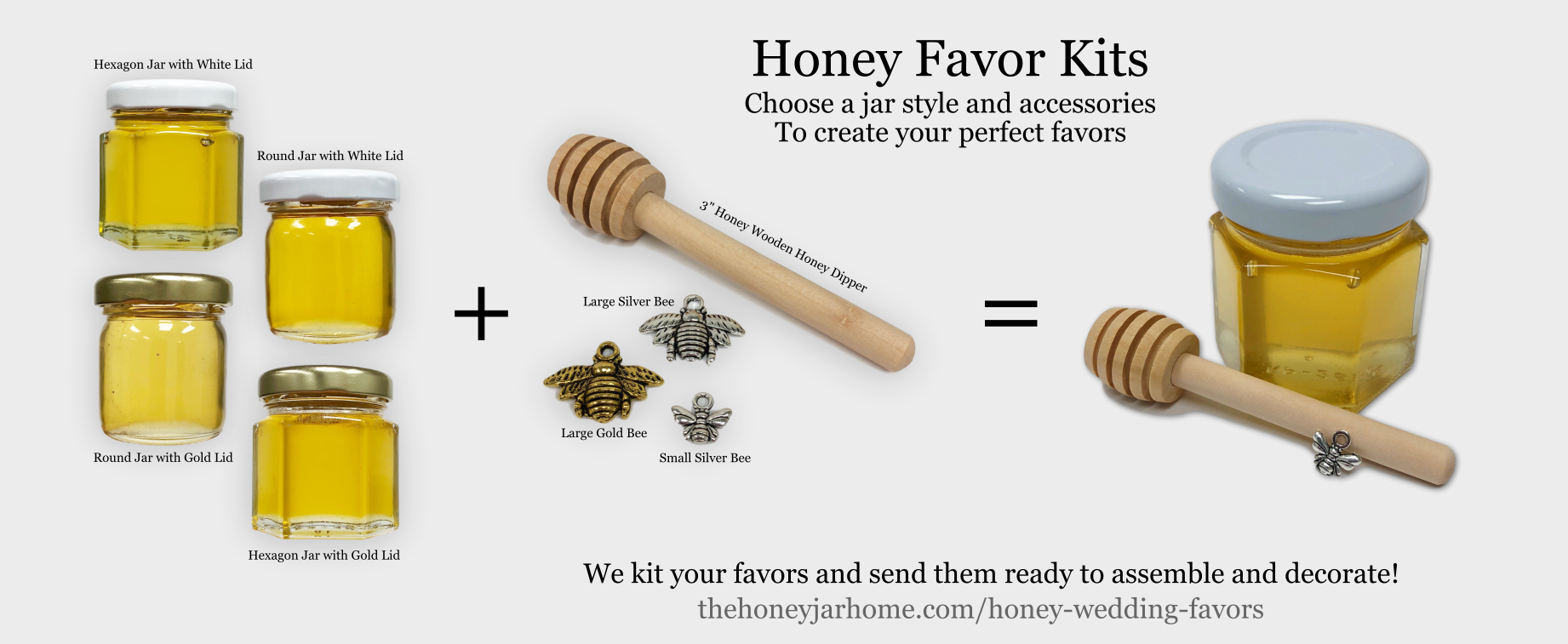 Honey Wedding Favors.Honey Wedding Favors Under 2 Each The Honey Jar